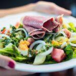 French Romaine Lettuce Salad