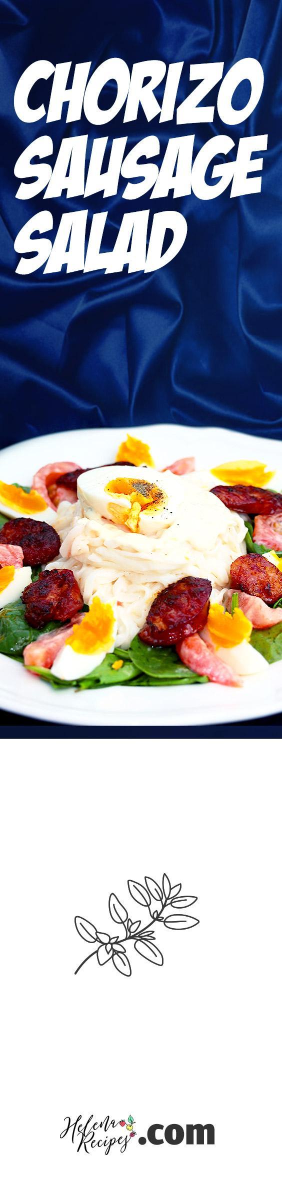 Chorizo Sausage Salad Pinterest Tailored Image