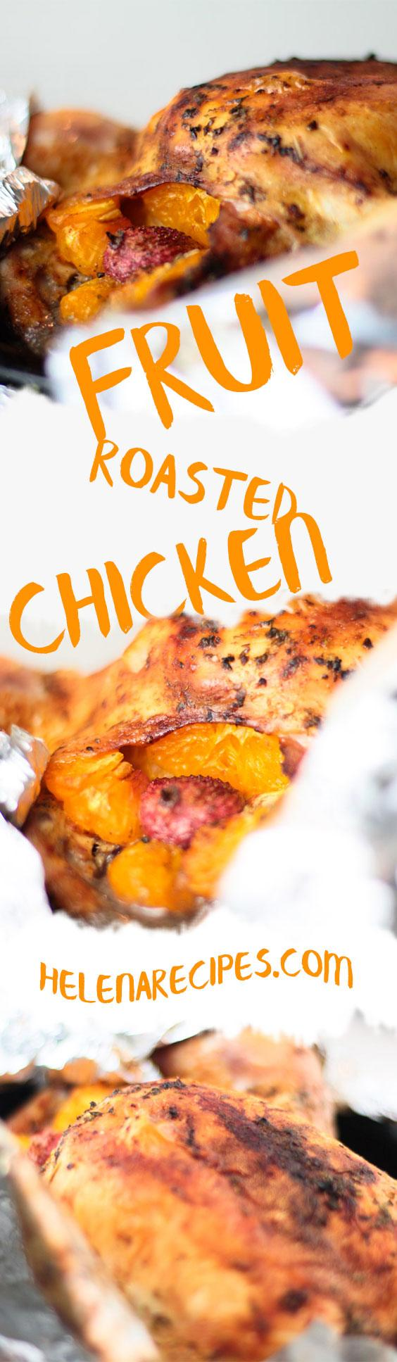 Fruit Roasted Chicken for Pinterest
