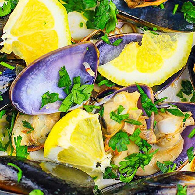 Wine Steamed Mussels Recipe
